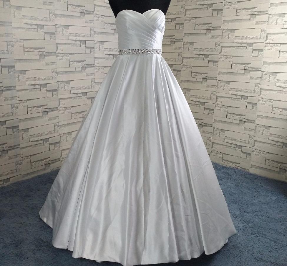 6db2e35d0 Dlhé svadobné šaty - 8 veľkostí, 2 farby, 40 - 145 € | Svadobné ...