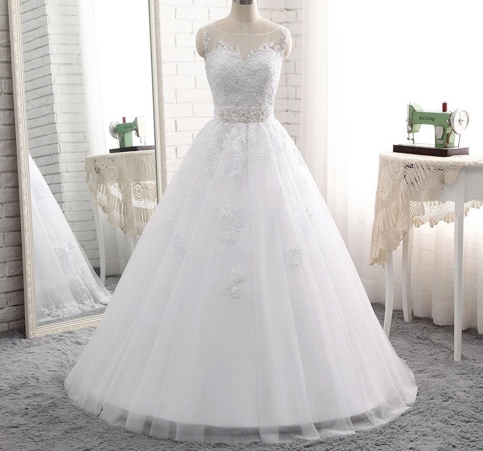 469bb5233 Dlhé svadobné šaty - 8 veľkostí, 2 farby, 44 - 150 € | Svadobné shopy |  Mojasvadba.sk