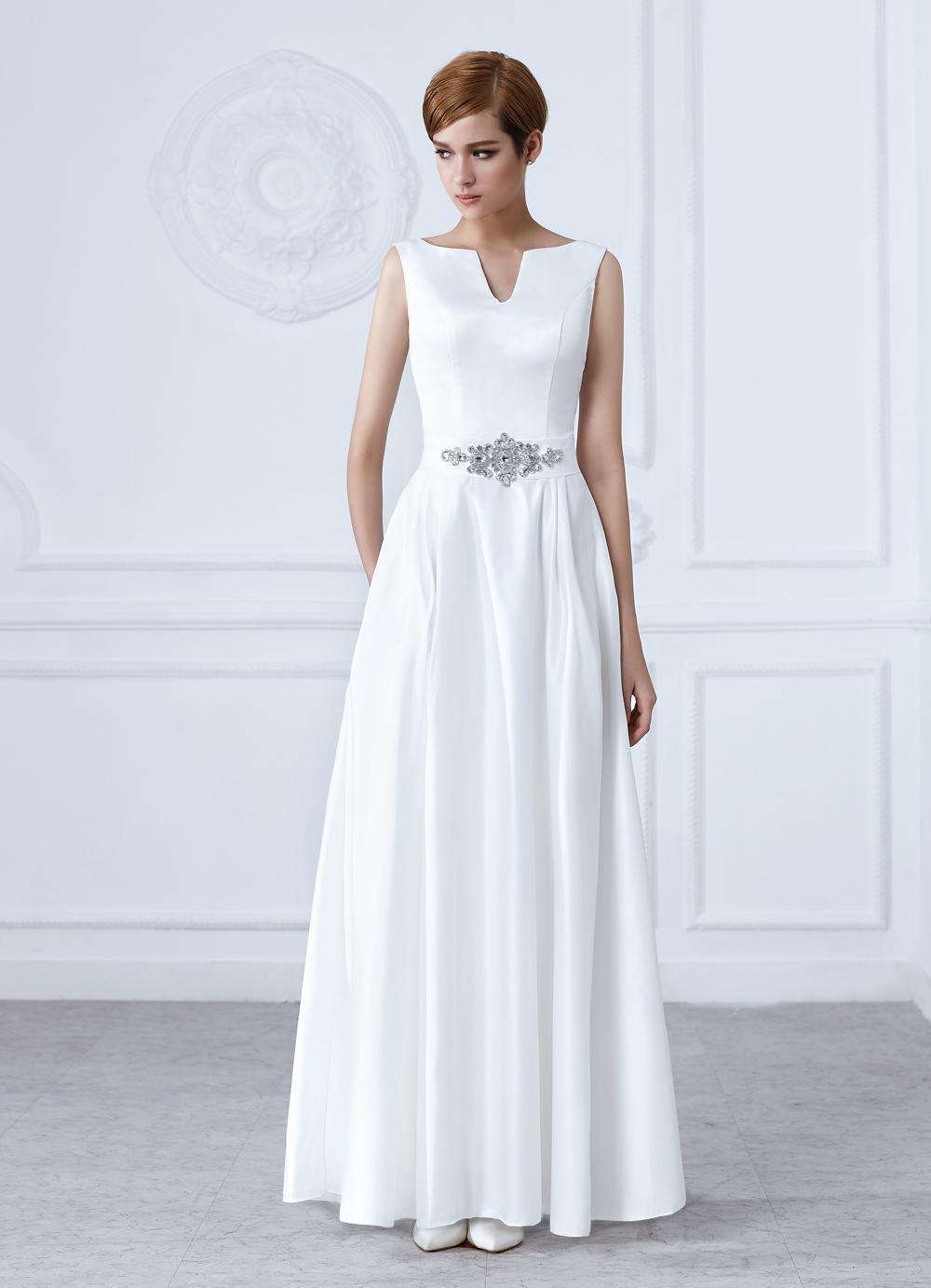bc9c18e83 Dlhé svadobné šaty - 8 veľkostí - rôzne farby, 38 - 120 € | Svadobné shopy  | Mojasvadba.sk