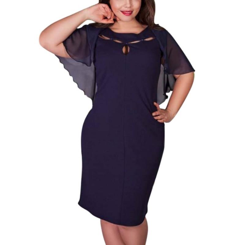 01194405defb Krátke spoločenské šaty pre moletky - 7 veľkostí