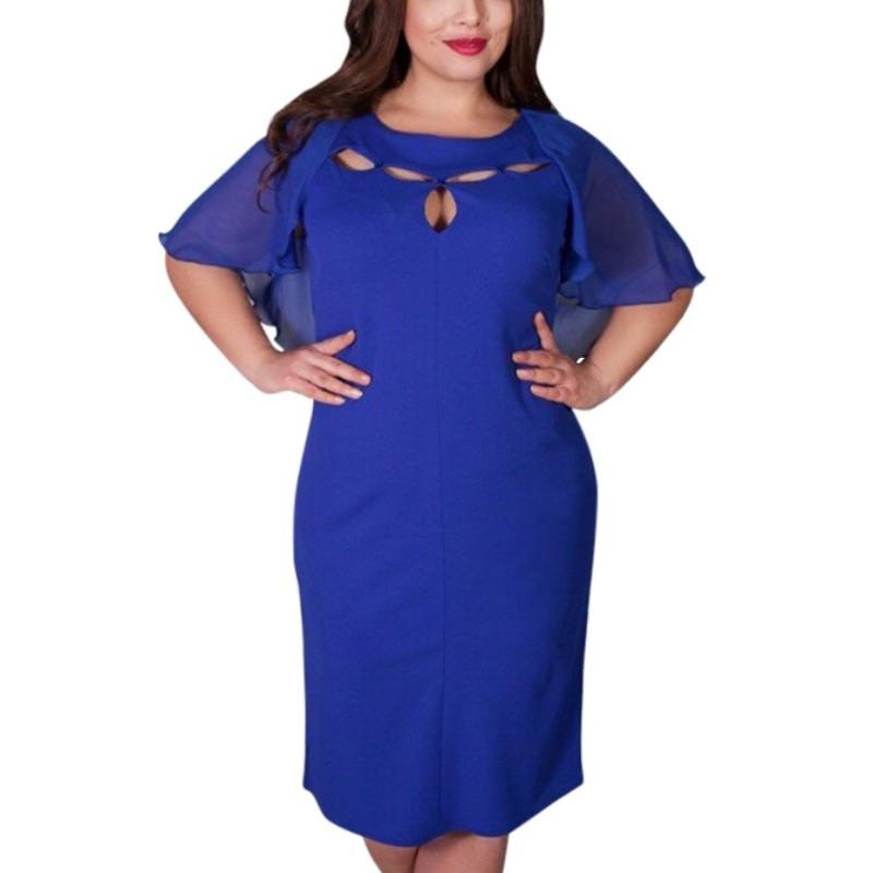 980dc3e57071 Krátke spoločenské šaty pre moletky - 7 veľkostí