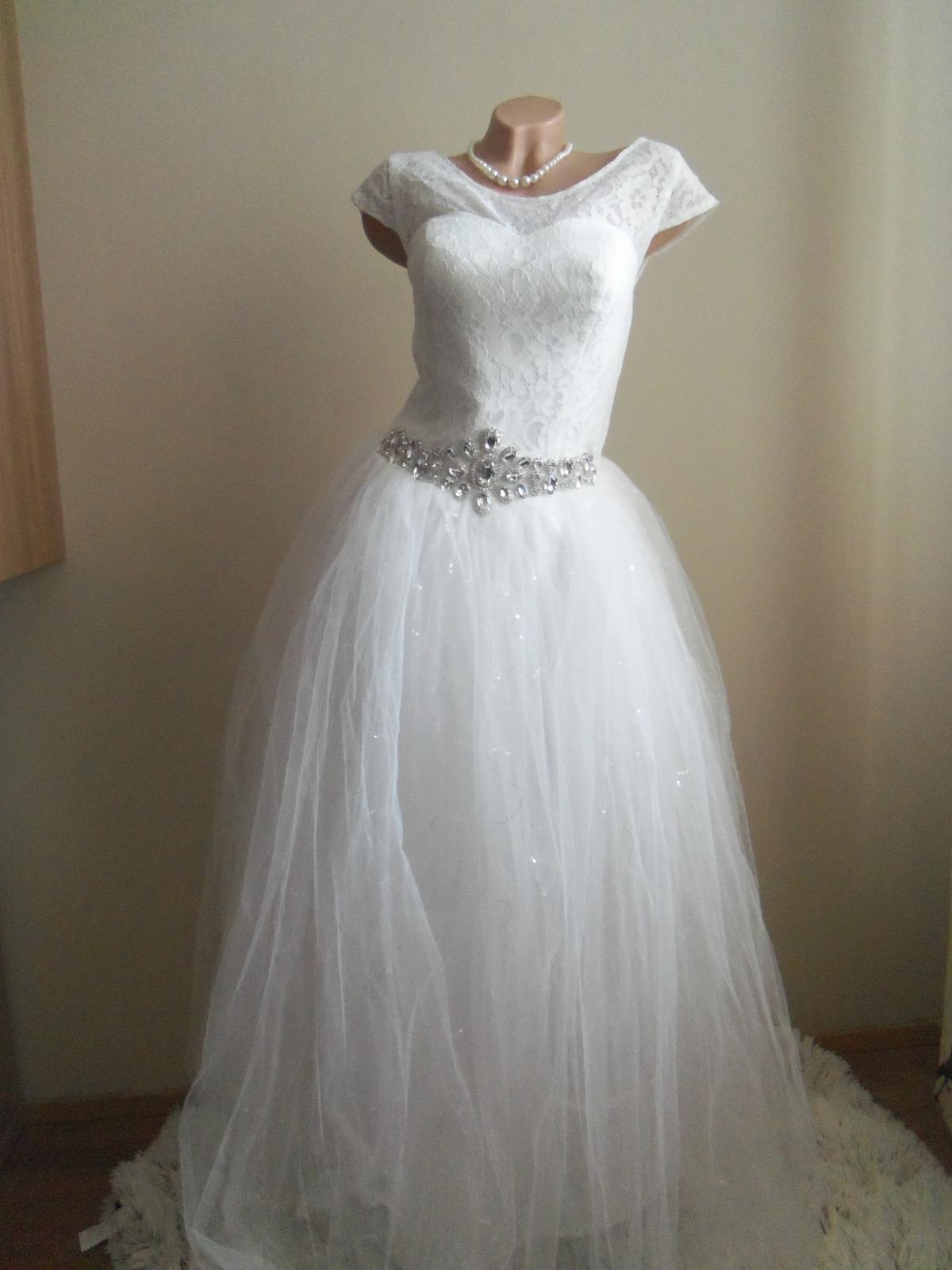 c9aee6292cf4 Svadobné šaty eu 38 40