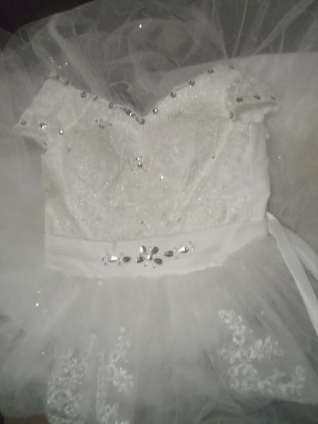 AKCIA svadobné šaty k dispozícii EU 34-38, 38