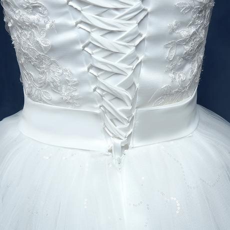 AKCIA svadobné šaty k dispozícii EU 36-44, 38