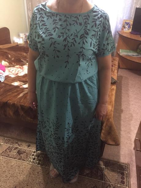 Dlhé šaty pre molet k dodaniu ihneď - 4XL - 52/54, 52