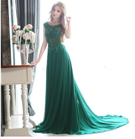 71c9edd7192d Dlhé spoločenské šaty - 6 veľkostí