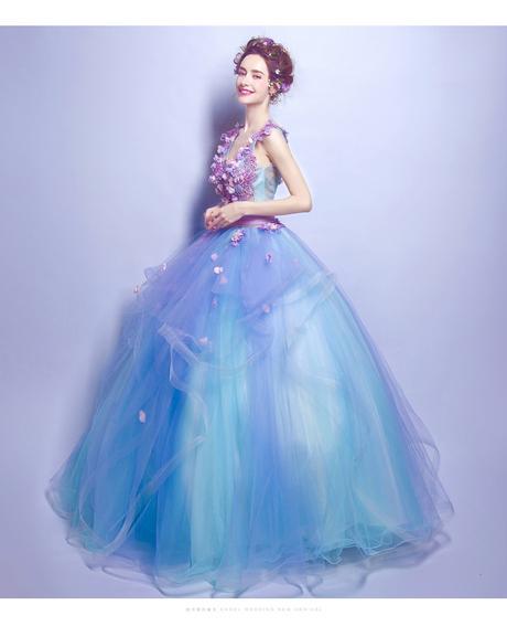 Dlhé spoločenské šaty - 7 veľkosti, 36