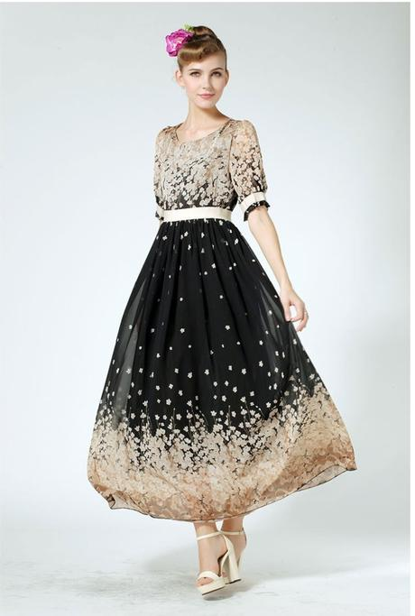 Dlhé spoločenské šaty aj pre moletky - 9 veľkostí 5d01cbc64ff