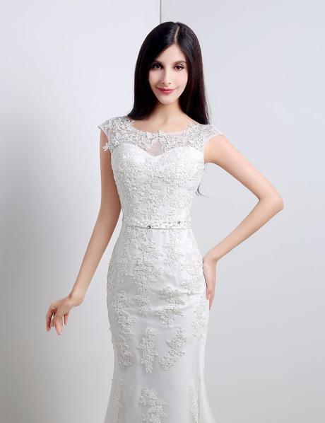Dlhé svadobné šaty - 11 veľkostí, 2 farby, 40