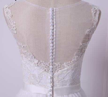 Dlhé svadobné šaty - 14 veľkostí, 2 farby, 42