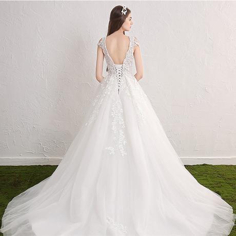 Dlhé svadobné šaty - 15 veľkostí, 2 farby, 40