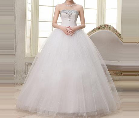 Dlhé svadobné šaty - 16 veľkostí, 42