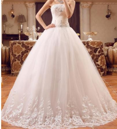 26061483d08e Dlhé svadobné šaty - 16 veľkostí
