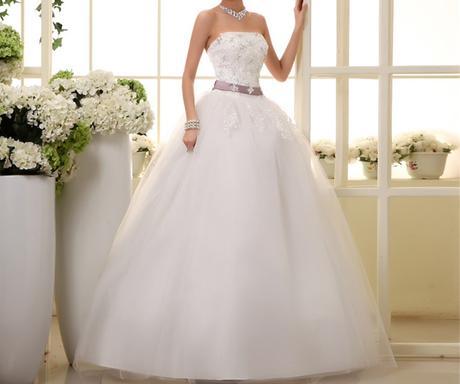 Dlhé svadobné šaty - 16 veľkostí, 54