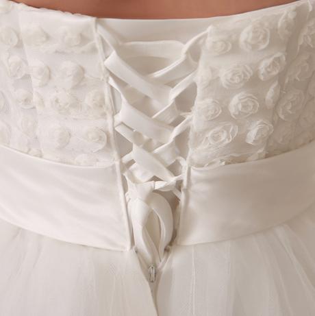 Dlhé svadobné šaty - 16 veľkostí - aj pre tehotné, 44