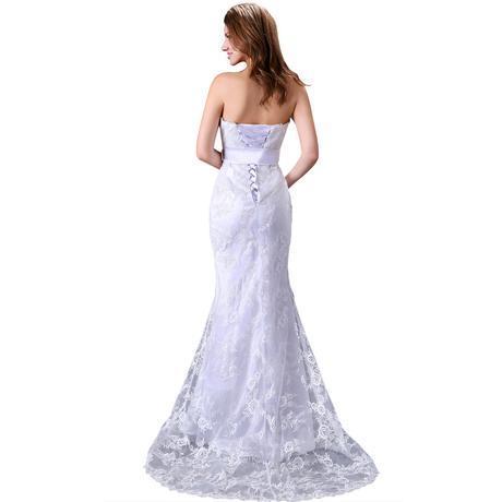 Dlhé svadobné šaty - 6 veľkostí, 38