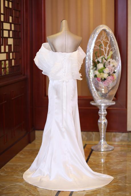 Dlhé svadobné šaty - 6 veľkostí, 40