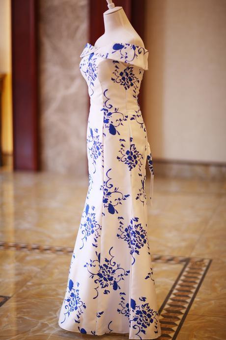 Dlhé svadobné šaty - 7 veľkostí, 36