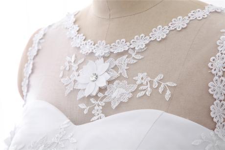Dlhé svadobné šaty - 8 veľkostí, 36