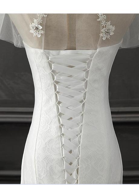 Dlhé svadobné šaty - 8 veľkostí, 42
