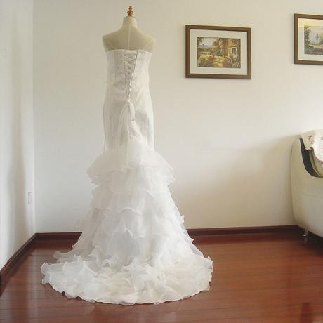 Dlhé svadobné šaty - 8 veľkostí, 44