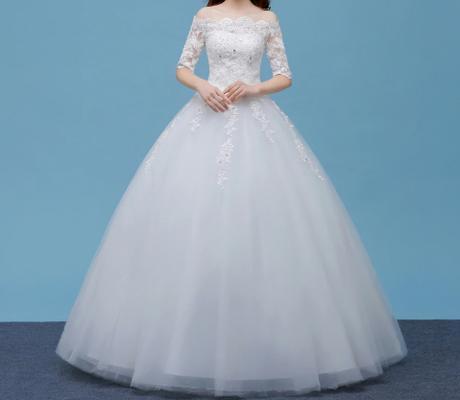 5401156c2 Dlhé svadobné šaty - 8 veľkostí, 44 - 135 € | Svadobné shopy | Mojasvadba.sk