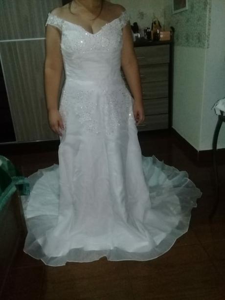 Dlhé svadobné šaty - 9 veľkostí, 2 farby, 40