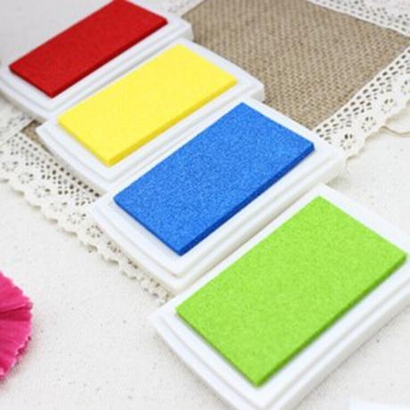 Farebné pečiatky - 8 farieb,