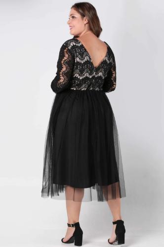 6e92c4311475 Krátke spoločenské šaty pre moletky - 4 veľkosti
