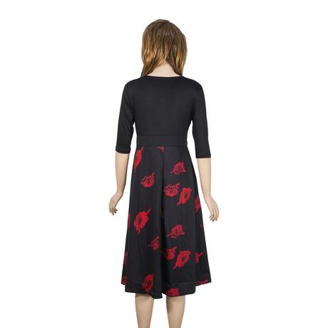 e035e77e9385 Krátke spoločenské šaty pre moletky aj tehotné