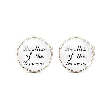 Manžetové gombíky pre ženícha, otca, brata, 40