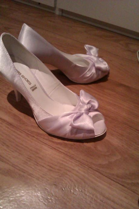 Svadbné pohodlné talianske topánočky, 35