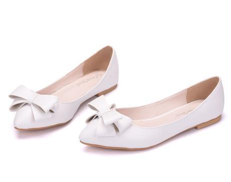 Svadobné baleríny, obuv - 10 veľkostí, 36