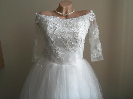 Svadobné šaty EU38/42-regulácia+možnosť rozšírenia, 38