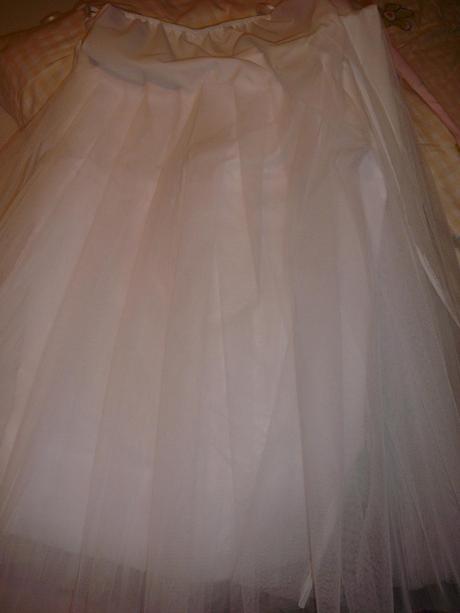 Svadobné šaty vhodné aj pre tehotnú 42-44 veľ. - , 44