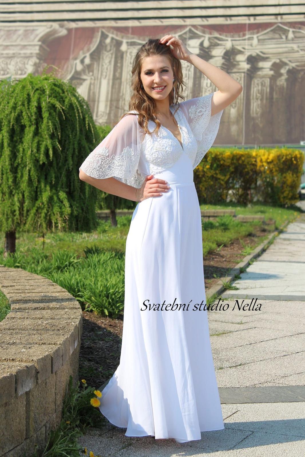 97079b144e4f Výprodej empírové svatební šaty