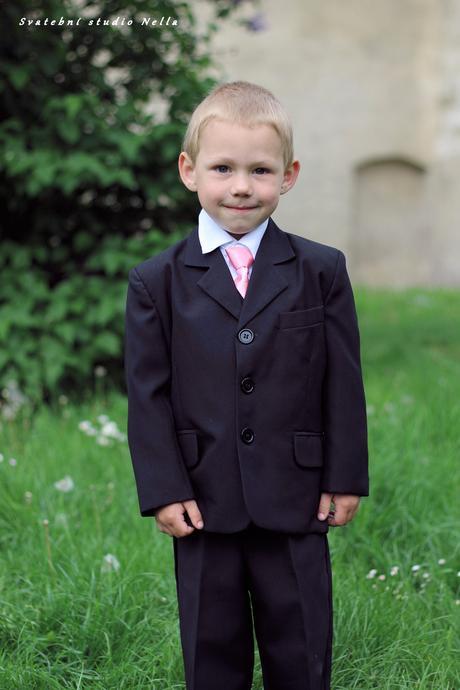 Chlapecký oblek 104 - půjčovné, 104