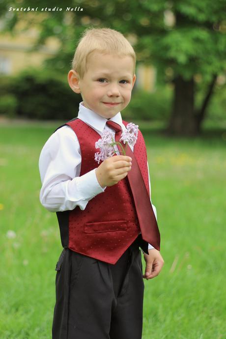 Chlapecký oblek 110 - půjčovné, 110