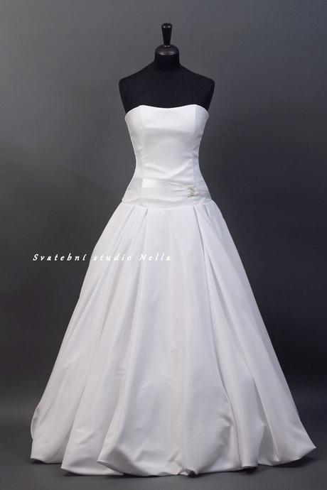 Svatební šaty bílé , 36