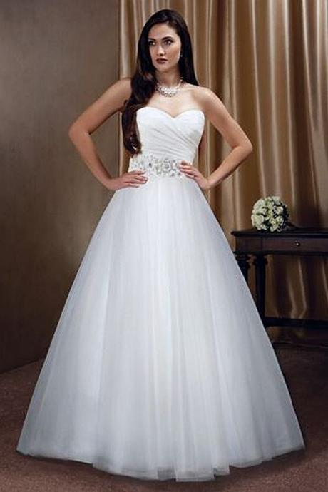 Svatební šaty N41 s vlečkou, 36