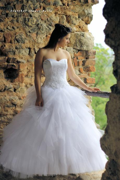 Svatební šaty N43, 40
