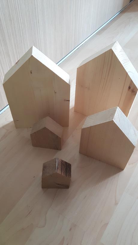 Dřevěné domečky,