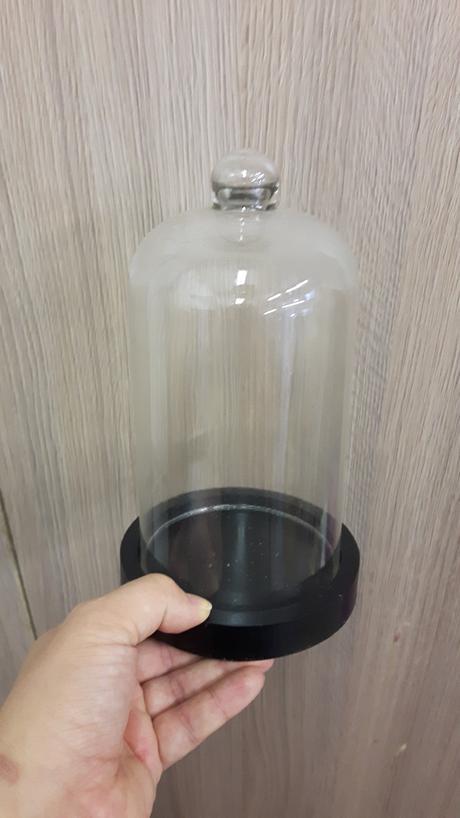 Poklop sklo + dřevo,