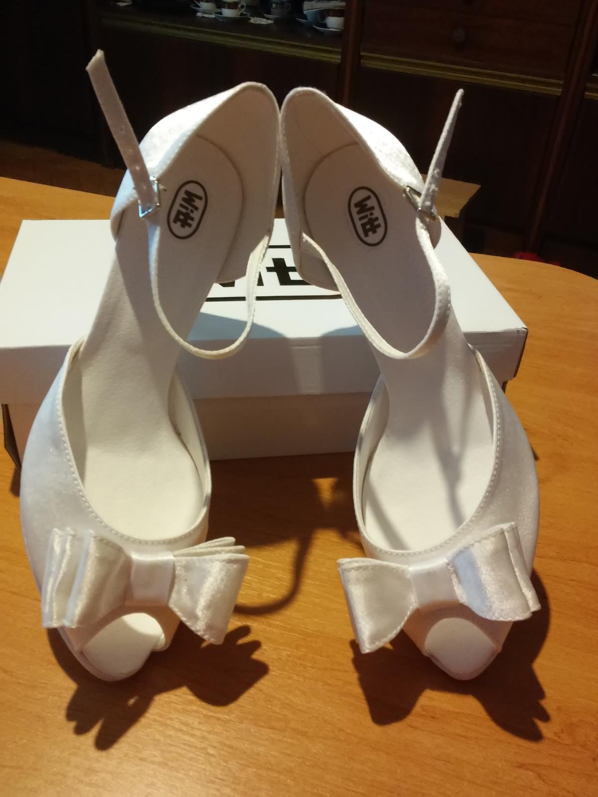 b68d09ef354b Svadobné topánky zn. witt