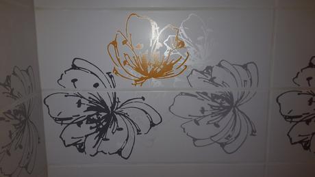 Midian giallo dekor Kvet 20x60 cm,