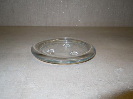 kulaté skleněné svícny (6 ks),