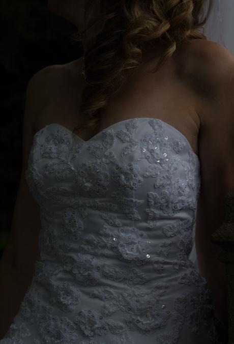 Svatební šaty 36/38 + spodnička, 38