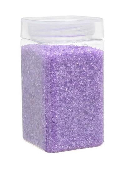 Dekoračný piesok kryštalický fialový,