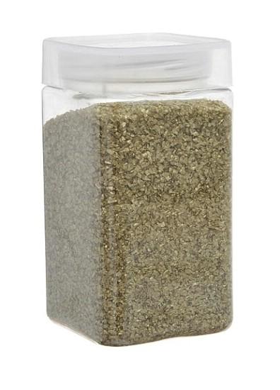 Dekoračný piesok kryštalický zlatý,