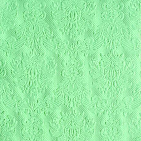 Reliéfne servítky pale green,
